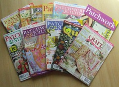 Huge Stack of Aussie Quilting Mags from Kay!!