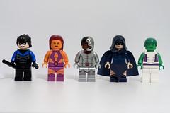 DC Hero Minifigs - Wave 10: Teen Titans