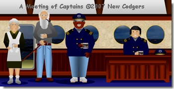 A Meeting of Captains ©2007 New Codgers