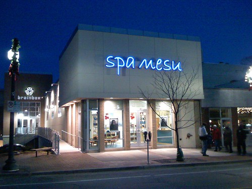 Spa Mesu in Downtown Silver Spring, Maryland - Taken With An iPhone
