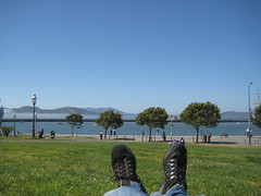 Lazying about at Fishermans Wharf