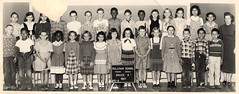 vintage class photo, 1957
