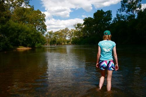 Roz at Mungabareena, Albury