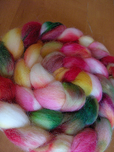 India Spice roving from Yarn Love