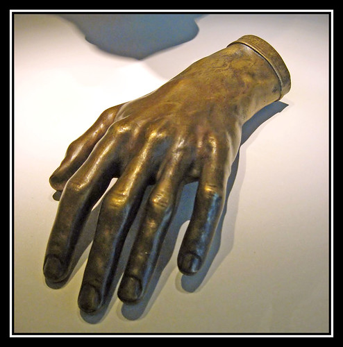 The left hand of Frédéric Chopin - the famous polish composer & virtuose pianist!