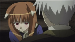 Spice and wolf 5 - Horo ears are cute