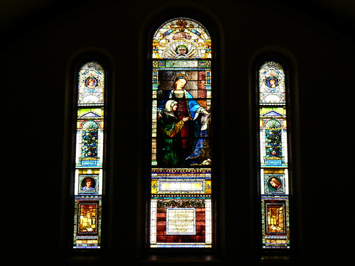 Amasa Stone window
