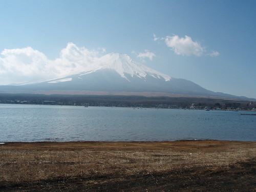 Mt Fuji day trip - I wore shorts that day...
