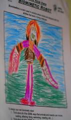 Biomimetic Robot drawing #2
