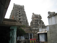 Raja Gopuram - From inside
