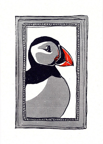 Portrait of the Artist as a Young Puffin.