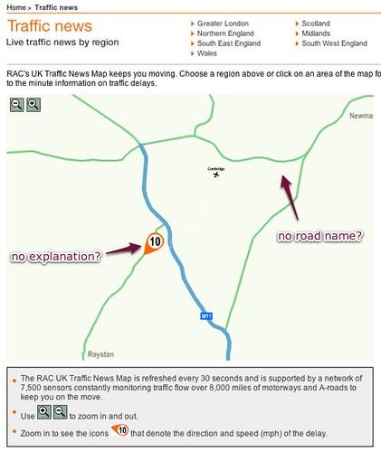 RAC Traffic website goes Flash - ack!