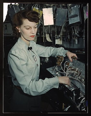 Electronics technician, Goodyear Aircraft Corp., Akron, Ohio (LOC)
