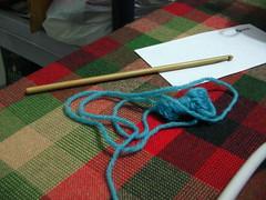 Yarn left