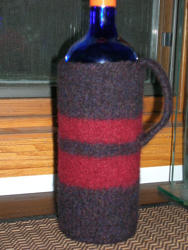 11-11 Felted Wine Cozy