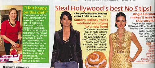 Woman's World article
