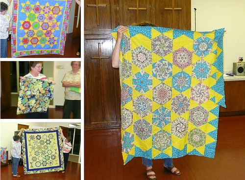 Quilter's Guild of Grand Prairie Stack-N-Whack Show-and-Tell