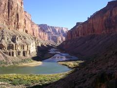 Grand Canyon - Nankoweap Trail - view from tra...