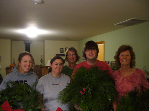 The wreath party