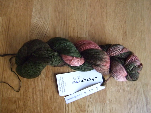 Malabrigo laceweight yarn