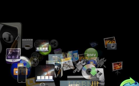 Econ Screensaver