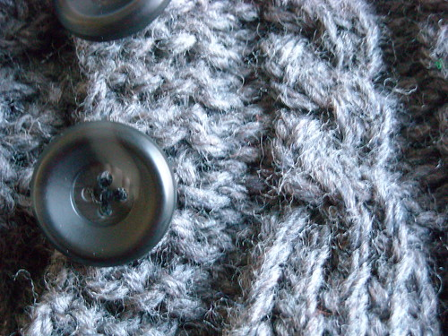 Neckwarmer close up