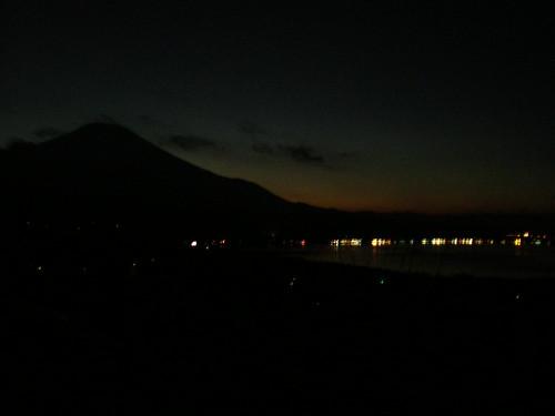 Fujisan at night
