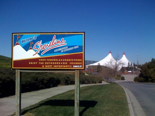Welcome to Shoreline Ampitheatre