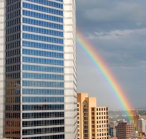 Regenbogen in Calgary