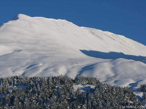alaska skiing sunburst