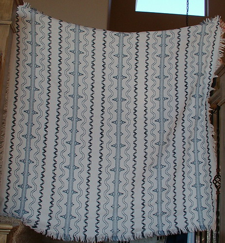 Swedish weave blanket