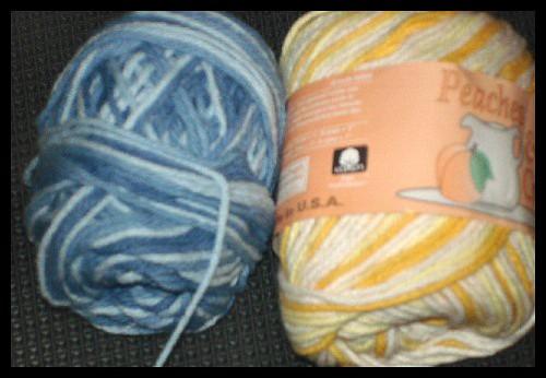 Lily Sugar and Cream yarns