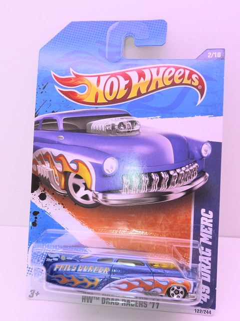 hot wheels '49 drag merc blue (1)