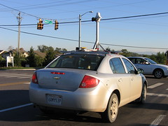 Google Streetview Car photographs Knoxville