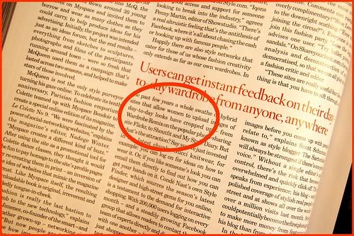 wardrobe_remix mention in nov. 2007 UK vogue