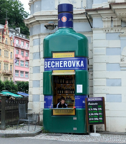 The Becherovka Kiosk