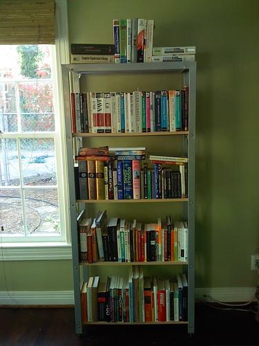 Bookshelf, after