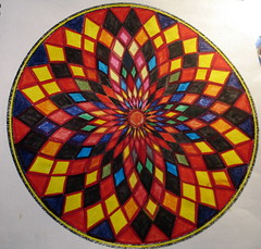 The Void - One, coloring mandalas, Minneapolis, Minnesota, January 2008, photo © 2008 by QuoinMonkey. All rights reserved.