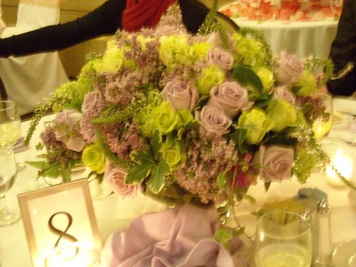 light purple center