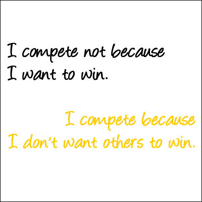 #49 Wise Words 1 - My uncle the competitor