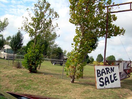 Texas Barn Sale