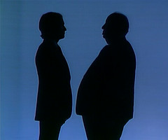 Dick Cavett & Alfred Hitchcock