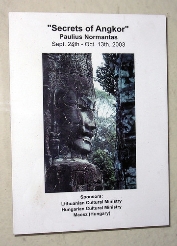 Secrets of Angkor by Paulius Normantas