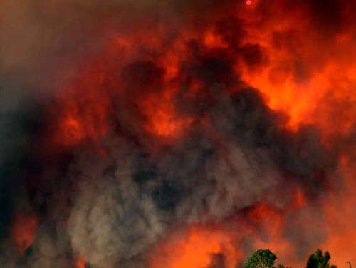 Scripps Ranch Fire