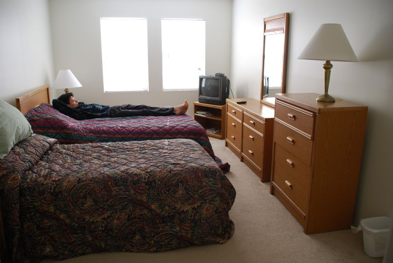 Temporary Housing--Master Bedroom