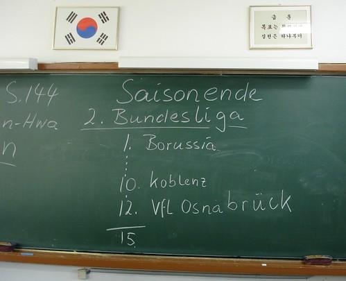 VfL Osnabrück in Korea
