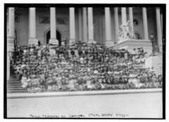Phila. Teachers on Capitol Steps, Wash., D.C.,...