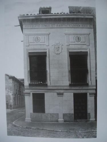 Casa de la Calle Mayor esquina a San Felipe Neri. 1920-30