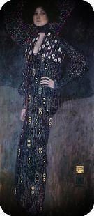 Gustav Klimt. Emilie Floge, 1902.