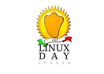 linuxday 2007, il logo